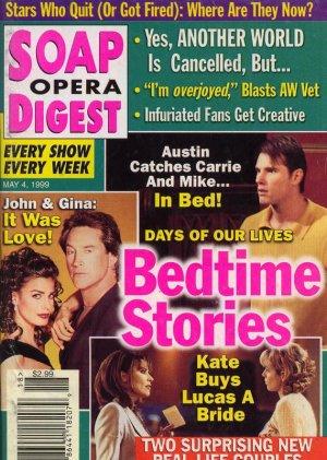 Soap Opera Digest 5 4 1999 Drake Hogestyn K Alfonso