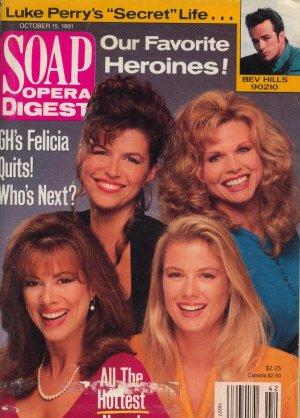 Soap Opera Digest 10 15 1991 Pasty Pease Finola Hughes