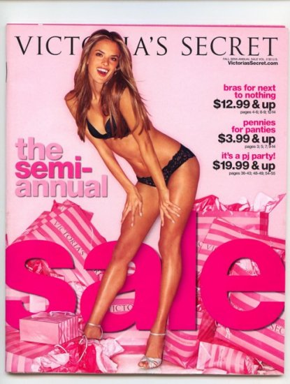 Victoria's Secret Lingerie Catalog Semi Annual Sale 2007 Vol 2