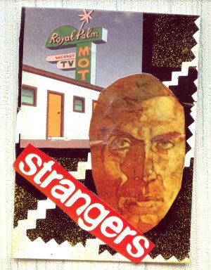ACEO Card Strangers Collage Art Card