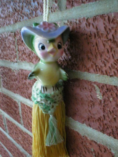 OOAK Tassel  ~ Little Bird  ~ Made by me in the USA