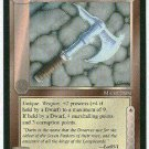 Middle Earth Durin's Axe Wizards Uncommon Game Card