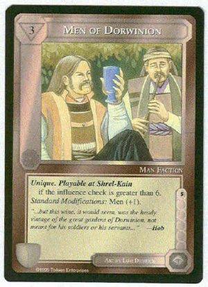 Middle Earth Men Of Dorwinion Uncommon Game Card