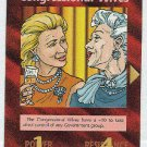 Illuminati Congressional Wives New World Order Game Card