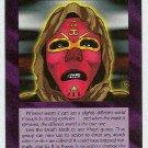 Illuminati Death Mask New World Order Game Trading Card
