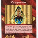 Illuminati Multinational Oil Companies NWO Game Card