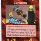 Illuminati Saturday Morning Cartoons NWO Game Trading Card