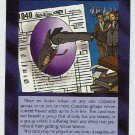 Illuminati Tax Breaks New World Order Game Trading Card