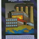 Illuminati Bigger Business New World Order Game Card