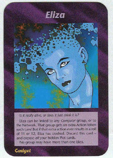 Illuminati Eliza New World Order Game Trading Card