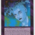 Illuminati Eliza New World Order Game Trading Card