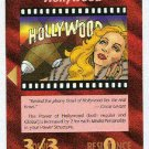 Illuminati Hollywood New World Order Game Trading Card
