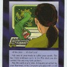 Illuminati The Internet Worm New World Order Game Card