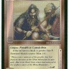 Middle Earth Hillmen Uncommon Wizards Limited Black Border Game Card