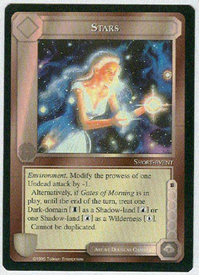 Middle Earth Stars Wizards Limited Uncommon Game Card