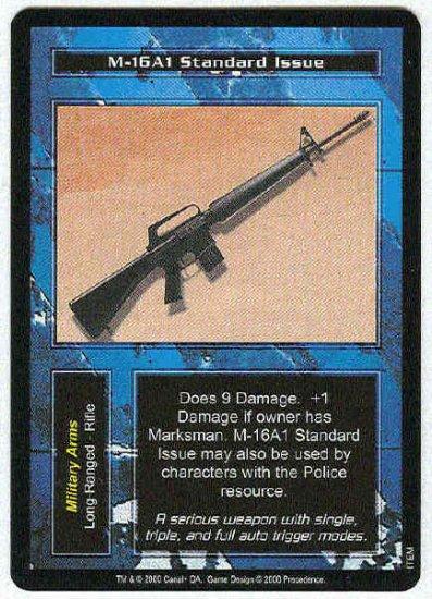 Terminator CCG M-16A1 Standard Issue Uncommon Card