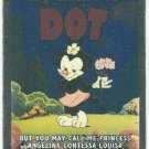 Animaniacs Foil Sticker #3 Dot Chase Trading Card