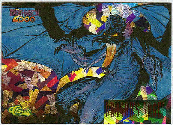 Deathwatch #BC12 Prism Foil Chase Card Dragon's Rage