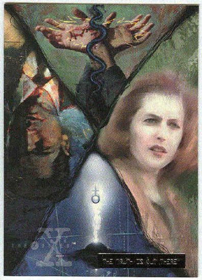 X-Files Season 2 #35 Parallel Card Silver Bar Xfiles