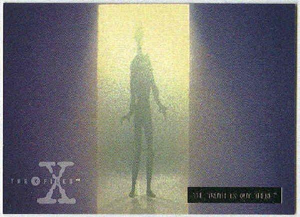 X-Files Season 2 #37 Parallel Card Silver Bar Xfiles