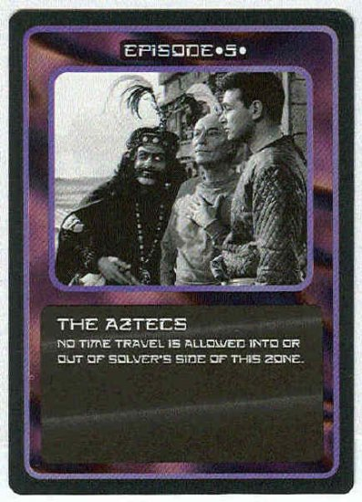 Doctor Who CCG The Aztecs Uncommon Black Border Game Card