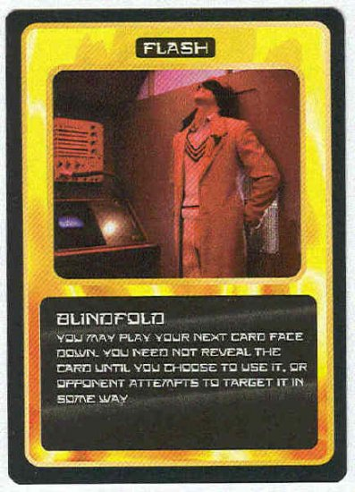 Doctor Who CCG Blindfold Uncommon Game Trading Card