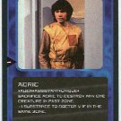 Doctor Who CCG Adric Uncommon Card Matthew Waterhouse