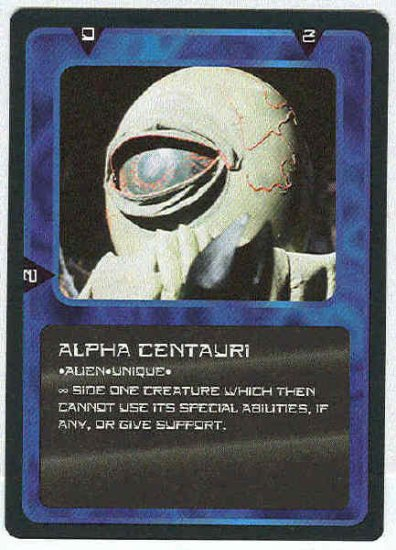 Doctor Who CCG Alpha Centauri Uncommon Game Card