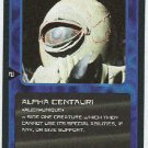 Doctor Who CCG Alpha Centauri Uncommon Game Card