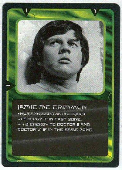 Doctor Who CCG Jamie McCrimmon Uncommon Card Frazer Hines