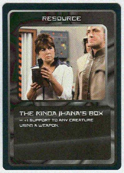 Doctor Who CCG The Kinda Jhana's Box Uncommon Card