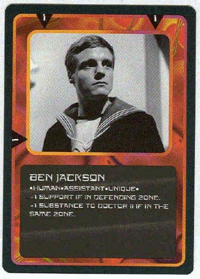 Doctor Who CCG Ben Jackson Uncommon Card Michael Craze