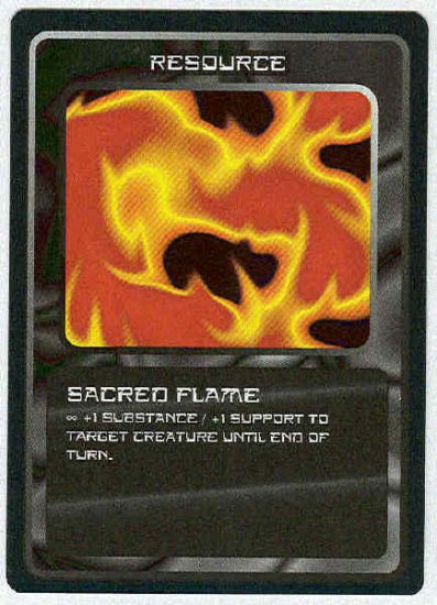 Doctor Who CCG Sacred Flame Uncommon Game Card
