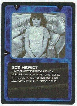 Doctor Who CCG Zoe Heriot Uncommon Card Wendy Padbury