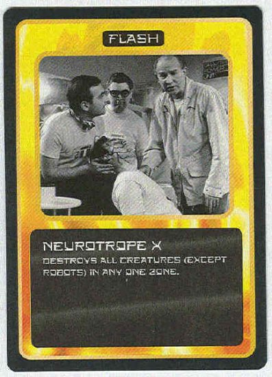 Doctor Who CCG Neurotrope X Uncommon Game Card