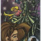 Creed 1996 Sticker #16 Chromium Parallel Trading Card