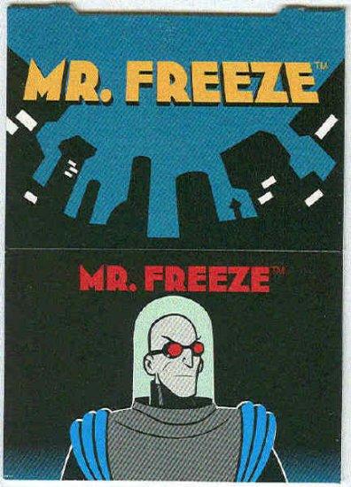 Batman Robin Adventures #P6 Pop-Up Chase Card Mr. Freeze