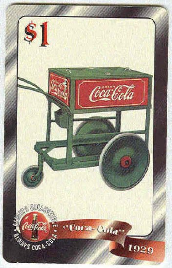 Coca Cola Sprint Fon 96 #37 $1 Phone Card