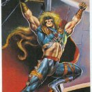 DC vs Marvel Impact Embossed #1 Chase Trading Card Thor