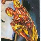 DC vs Marvel Impact Embossed #3 Chase Trading Card Iron Man