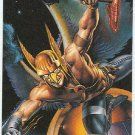 DC vs Marvel Impact Embossed #6 Chase Card Hawkman