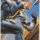 DC vs Marvel Impact Embossed #7 Chase Card Quicksilver