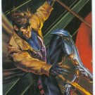 DC vs Marvel Impact Embossed #10 Chase Trading Card Gambit