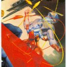 DC vs Marvel Impact Embossed #15 Chase Card The Atom