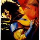 DC vs Marvel Impact Embossed #18 Chase Card Wolverine