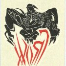 Crow City Of Angels #2 Temporary Tattoo Demon's Wrestling