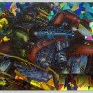 Deathwatch #BC9 Prism Foil Card Dinosaur Military Police