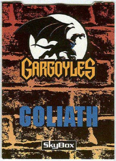 Gargoyles 1995 #P2 Pop-Up Trading Card Goliath