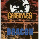 Gargoyles 1995 #P8 Pop-Up Trading Card Dracon
