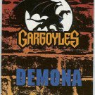 Gargoyles 1995 #P9 Pop-Up Trading Card Demona